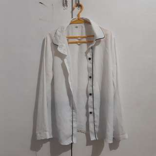 White Corporate Blouse (Long sleeves)