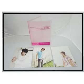 日本男明星精品系列 - 佐藤健 明信片連粉紅色卡簿 ファンミーティング ZERO 1234Yen