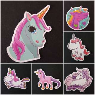 C7 Unicorns Part 5 of 5 Sticker Stickers