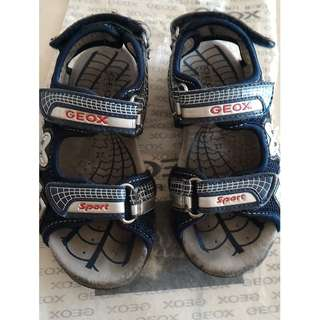 Geox Boy J S.STRIKE G Sandals UK9