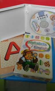 A-Z alphabets english CD&book