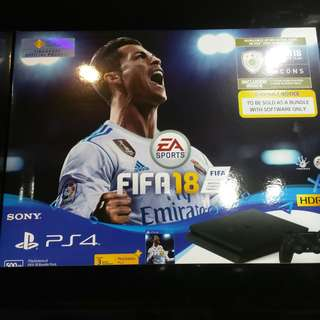 Ps4 Slim fifa 18 bundle