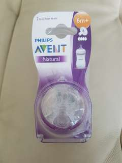 Philips Avent Teats (6m+) Twin packs