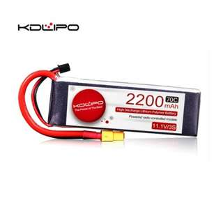 🚚 KD Lipo 2200mAh 11.1V 3s 70C - In Stock!!