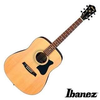 🚚 Ibanez v50njp 民謠吉他 附贈全套配件 入門性價比最高琴款