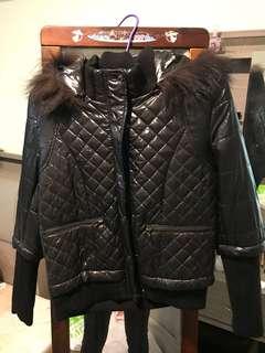🚚 鋪棉外套(黑)