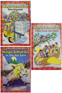 Magic School Bus Reading Level 2 Children's Books