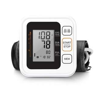 🚚 Blood Pressure Monitor