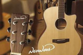 🚚 Neowood G15NC 民謠吉他 附贈全套配件 雲杉面板 小桶身入門首選
