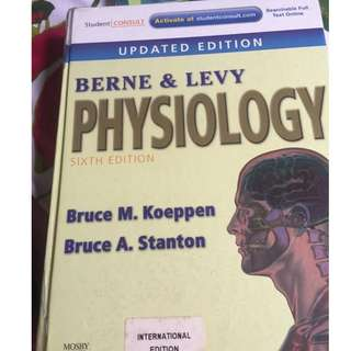 Berne and Levy Physiology 6th ed
