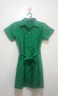 Girls Scout Dress (2pcs)