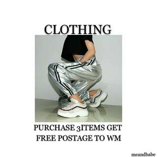 CLOTHING PROMOTION