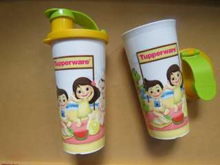 Fun Tumbler Tupperware (new)