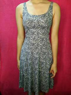 Dotted Fit Dress