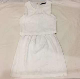 For Me White Dress