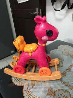 Lallaloppsy horse/doll stroller