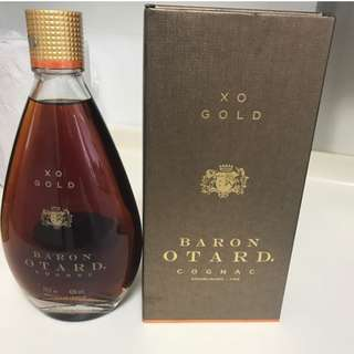 [VINTAGE] Sealed 750ml Baron Otard XO Gold Cognac