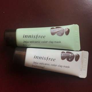 Innisfree Color Clay Mask Bundle