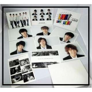 日本男明星精品系列 - NEWS「LIVE! LIVE! LIVE! NEWS DOME PARTY 2010」明信片一套十一張