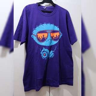 Family guy Stevie Griffin t-shirt violet