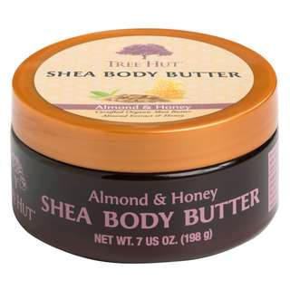 Tree Hut Shea Body Butter Almond & Honey 198g