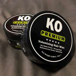 🚚 KO PREMIUM VOLUMIZING HAIR WAX