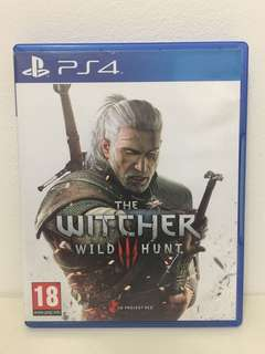 Ps4 The Witcher 3 Wild Hunt