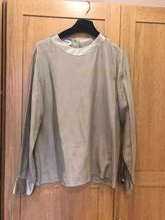 🚚 Salvatore Ferragamo絲質襯衫