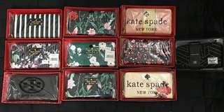 Kate Spade, Tory Burch, Herschel Long Wallet