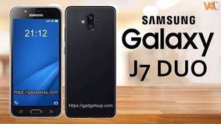 Samsung galaxy J7duo (keredit)