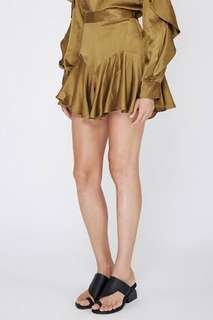 Acler Florence Silk Shorts