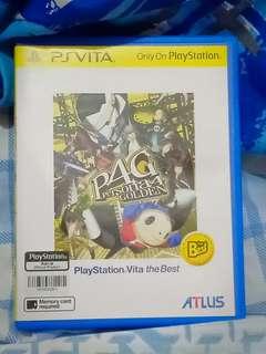 PS vita Persona 4 Golden R3