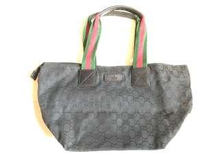 Gucci黑色細袋