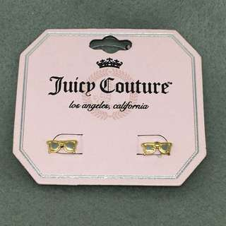 Juicy Couture Sample Earrings 金銀色太陽眼鏡耳環