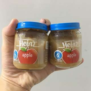 Heinz Apple Puree (6 months and above)