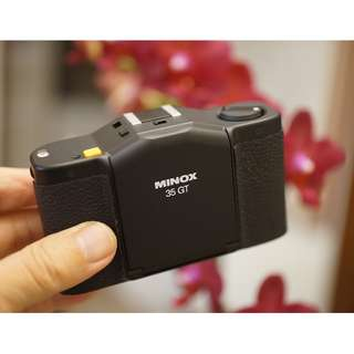 個人收藏德國經典Minox GT 輕便相機