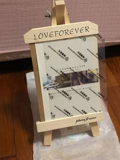 Photo frame stand tripod
