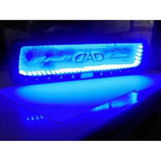 Ecer Grosir Aksesoris Modifikasi Interior Mobil Spion Dalam Tulisan DAD Dengan Lampu 3D Biru