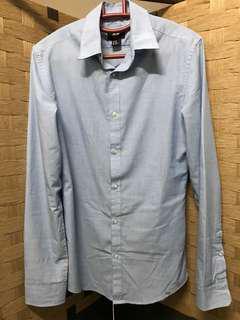 H&M Blue Shirt XS