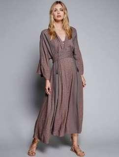 Free People kimono dress