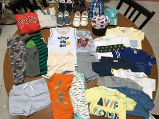Bundle of Baby Boys Clothing