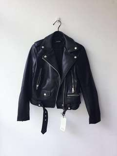 🚚 BNWT Zara Leather Jacket