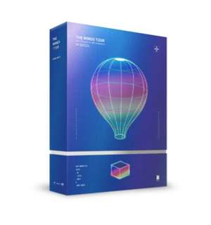 BTS THE WINGS TOUR DVD in Seoul / TWT DVD