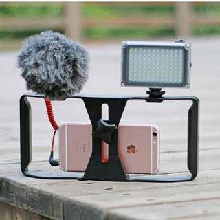 Phone Holder With Cage For Videography Purpose ( Caged Phone Holder aka Phone Cage )