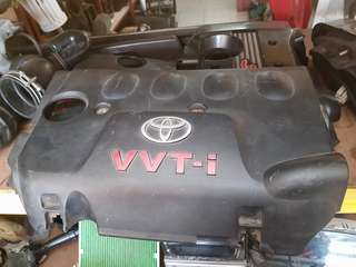 Toyota vios 1nzfe engine cover