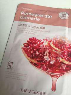 The Face Shop pomegranate grenade mask