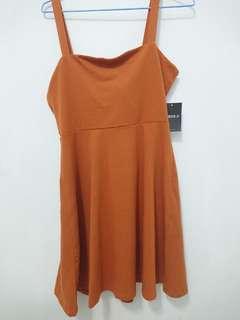 針織連衣裙-短