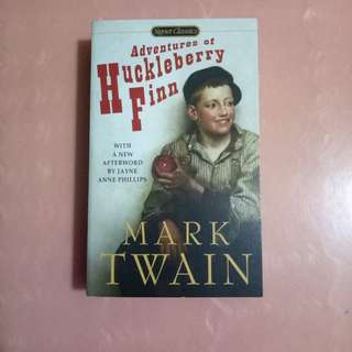 Novel Mark Twain - The Adventures of Huckleberry Finn