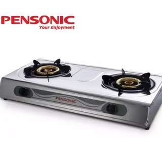 Pensonic PGC-55S Double Burner Gas Stove