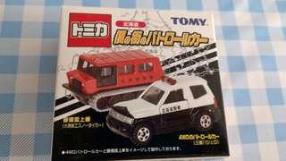 Tomica 套裝車兩架中製